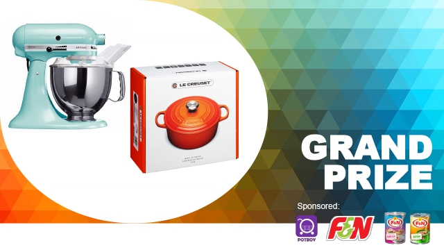 grand prizes for f&n cooking contest